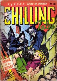 Cover for Chilling Tales (Youthful, 1952 series) #16
