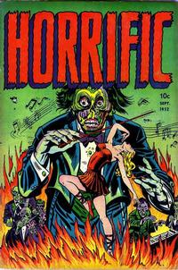 Cover Thumbnail for Horrific (Comic Media, 1952 series) #1