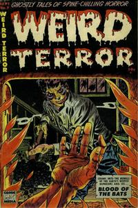 Cover Thumbnail for Weird Terror (Comic Media, 1952 series) #7