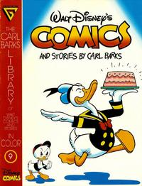 Cover Thumbnail for The Carl Barks Library of Walt Disney's Comics and Stories in Color (Gladstone, 1992 series) #9