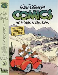 Cover Thumbnail for The Carl Barks Library of Walt Disney's Comics and Stories in Color (Gladstone, 1992 series) #28