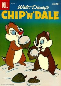 Cover Thumbnail for Chip 'n' Dale (Dell, 1955 series) #16