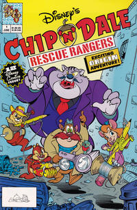 Cover Thumbnail for Chip 'n' Dale Rescue Rangers (Disney, 1990 series) #1