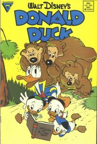 Cover Thumbnail for Donald Duck (Gladstone, 1986 series) #260