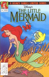 Cover for Disney&#39;s The Little Mermaid Limited Series (1992 series) #3