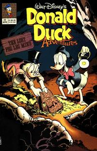 Cover Thumbnail for Walt Disney's Donald Duck Adventures (Disney, 1990 series) #23