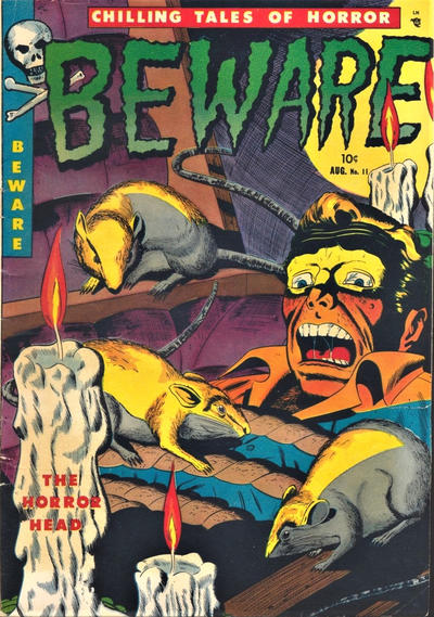 Cover for Beware (Youthful, 1952 series) #11