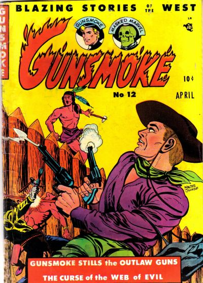 Cover for Gunsmoke (Youthful, 1949 series) #12