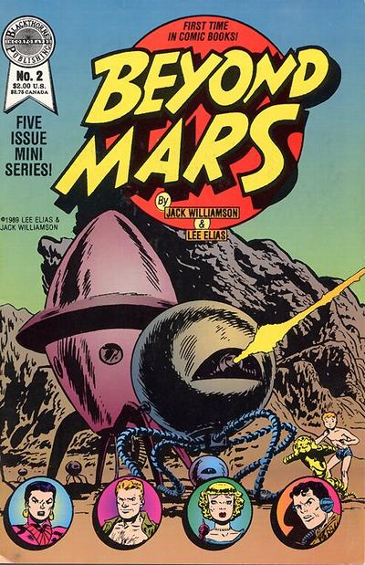 Cover for Beyond Mars (Blackthorne, 1989 series) #2