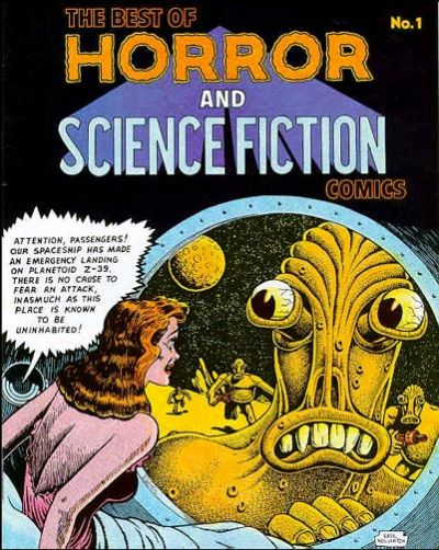 Cover for The Best of Horror and Science Fiction Comics (Bruce Webster, 1987 series) #1