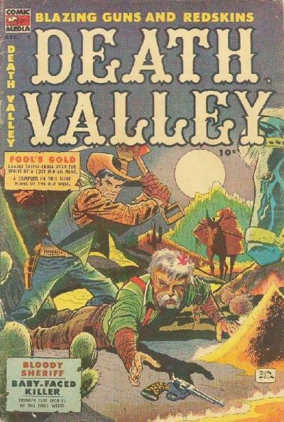 Cover for Death Valley (Comic Media, 1953 series) #2