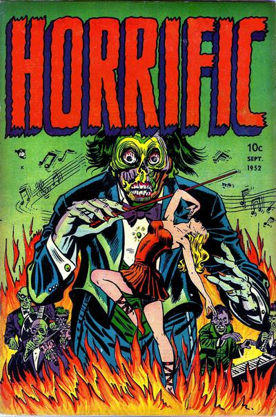 Cover for Horrific (1952 series) #1