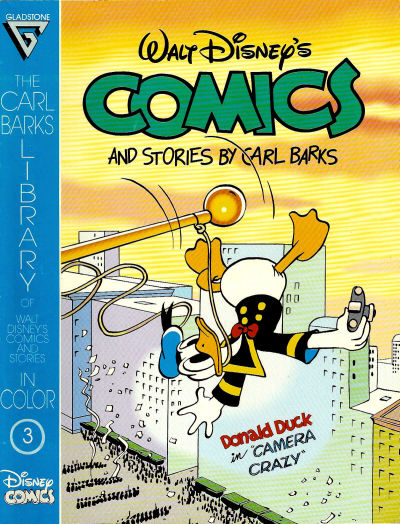 Cover for The Carl Barks Library of Walt Disney's Comics and Stories in Color (Gladstone, 1992 series) #3