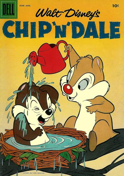 Cover for Chip 'n' Dale (1955 series) #6