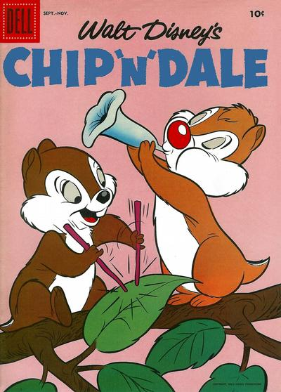 Cover for Chip 'n' Dale (Dell, 1955 series) #11