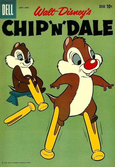 Cover for Chip 'n' Dale (Dell, 1955 series) #19