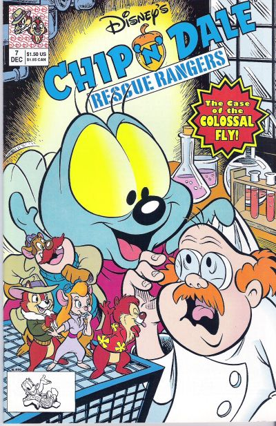 Cover for Chip 'n' Dale Rescue Rangers (Disney, 1990 series) #7