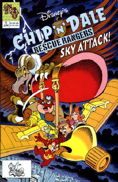 Cover for Chip 'n' Dale Rescue Rangers (Disney, 1990 series) #13