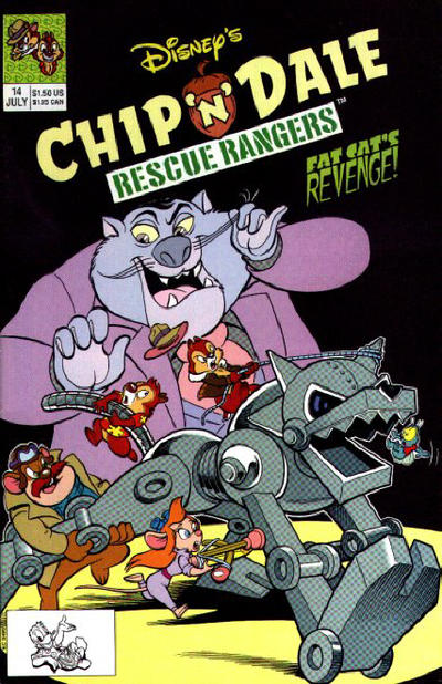 Cover for Chip 'n' Dale Rescue Rangers (Disney, 1990 series) #14