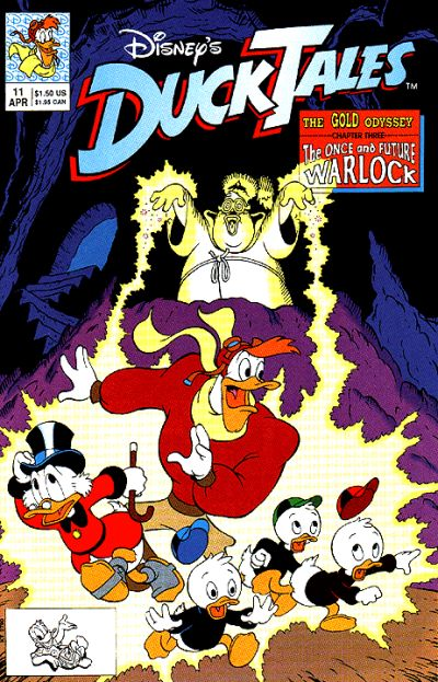 Cover for DuckTales (Disney, 1990 series) #11