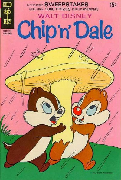 Cover for Walt Disney Chip 'n' Dale (Western, 1967 series) #5