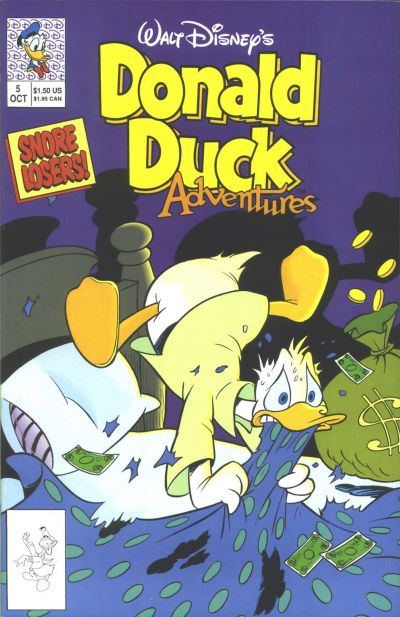 Cover for Walt Disney's Donald Duck Adventures (Disney, 1990 series) #5