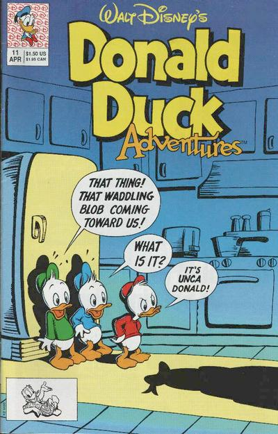 Cover for Walt Disney's Donald Duck Adventures (Disney, 1990 series) #11