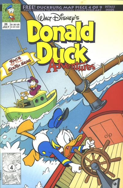 Cover for Walt Disney's Donald Duck Adventures (Disney, 1990 series) #26