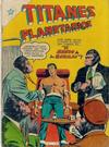 Cover for Titanes Planetarios (Editorial Novaro, 1953 series) #25