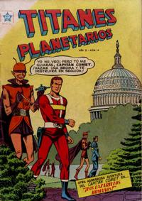 Cover Thumbnail for Titanes Planetarios (Editorial Novaro, 1953 series) #14