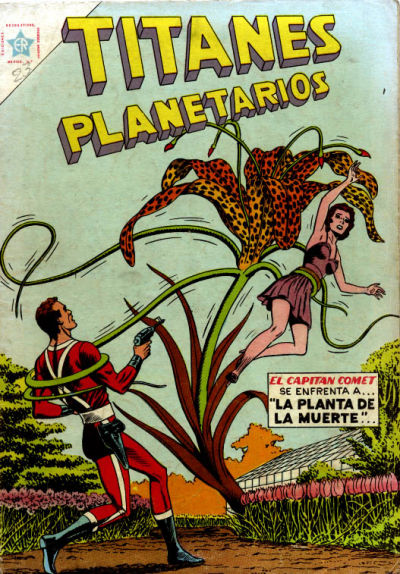 Cover for Titanes Planetarios (1953 series) #23
