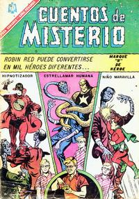 Cover for Cuentos de Misterio (Editorial Novaro, 1960 series) #95
