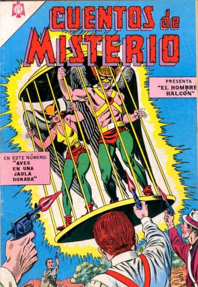 Cover for Cuentos de Misterio (Editorial Novaro, 1960 series) #56