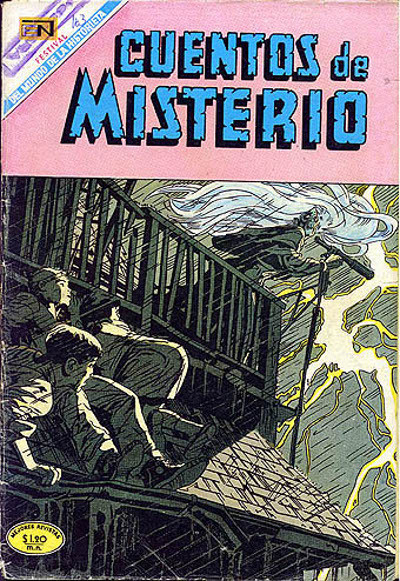Cover for Cuentos de Misterio (Editorial Novaro, 1960 series) #163