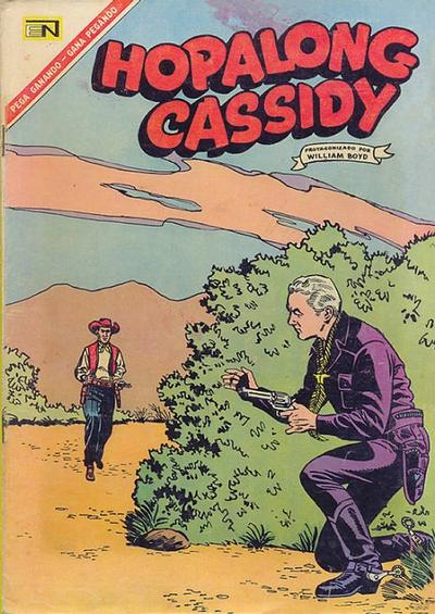 Cover for Hopalong Cassidy (Editorial Novaro, 1952 series) #145