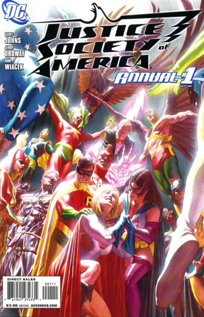 Cover for JSA Annual [Justice Society of America Annual] (DC, 2008 series) #1