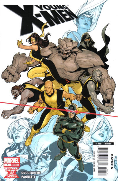 Cover for Young X-Men (Marvel, 2008 series) #1 [Marvel Digital Comics Variant]