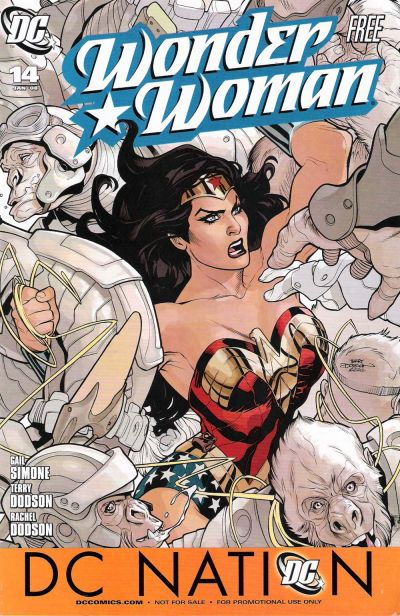 Cover for Wonder Woman (2006 series) #14 [giveaway]