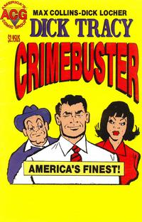 Cover for Dick Tracy Crimebuster (Avalon Communications, 1999 series) #4
