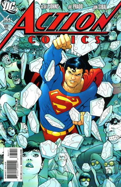 Cover for Action Comics (DC, 1938 series) #864