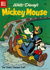 Cover for Mickey Mouse (Dell, 1952 series) #58