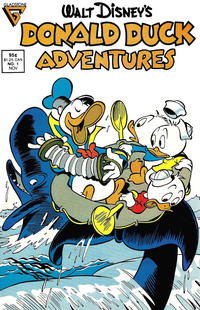 Cover Thumbnail for Walt Disney's Donald Duck Adventures (Gladstone, 1987 series) #1