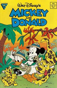 Cover Thumbnail for Walt Disney's Mickey and Donald (Gladstone, 1988 series) #10