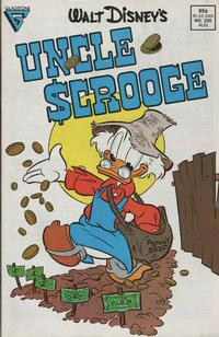 Cover Thumbnail for Walt Disney's Uncle Scrooge (Gladstone, 1986 series) #220