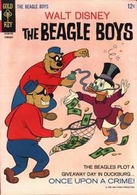 Cover Thumbnail for Walt Disney The Beagle Boys (Western, 1964 series) #5