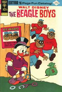 Cover Thumbnail for Walt Disney The Beagle Boys (Western, 1964 series) #23 [Gold Key]