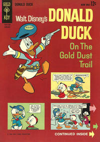 Cover Thumbnail for Donald Duck (Western, 1962 series) #86