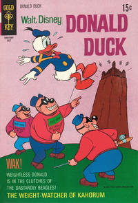 Cover Thumbnail for Donald Duck (Western, 1962 series) #132