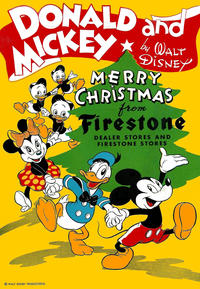 Cover Thumbnail for Donald and Mickey Merry Christmas (Dell, 1943 series) #1945