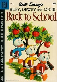 Cover Thumbnail for Huey, Dewey and Louie Back to School (Dell, 1958 series) #1